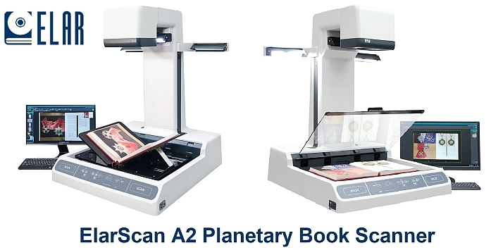 ElarScan A2 Book Scanner